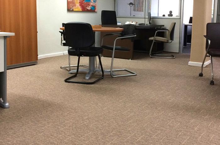 Carpete Cross Instalado