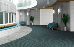 Carpete Comercial Dimension