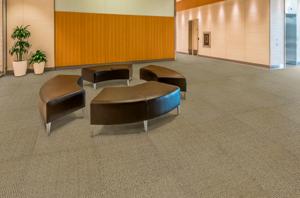 Carpete em Placa TSC - Instalado