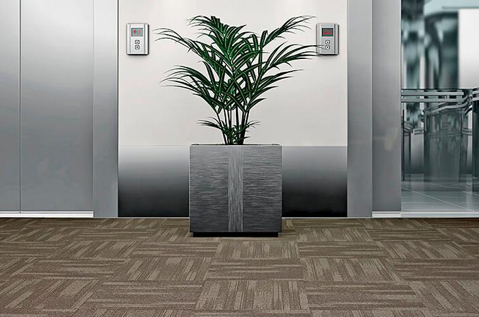 Carpete em Placas Equinox - Instalado
