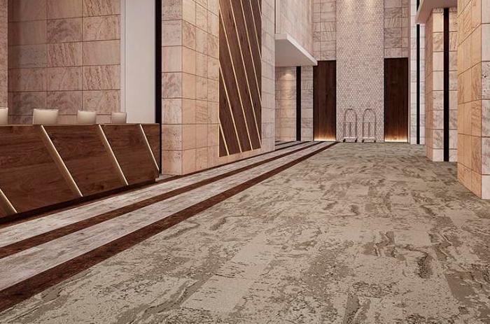 Carpete em Placas Forge - Instalado