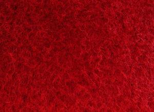 Carpete Forração Aveludada Vermelho 210
