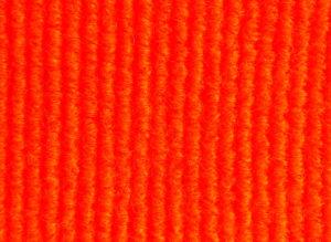 Carpete Forração Canelada Laranja 145