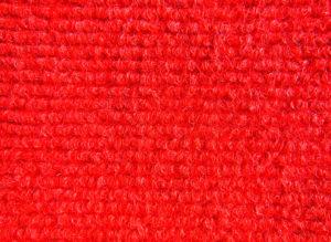 Carpete Forração Canelada Vermelho 210