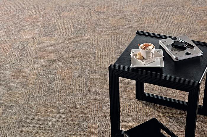 Carpete em Placas Interlude - Instalado