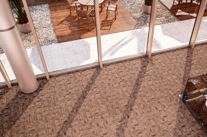 Carpete em Placas Shadow - Instalado