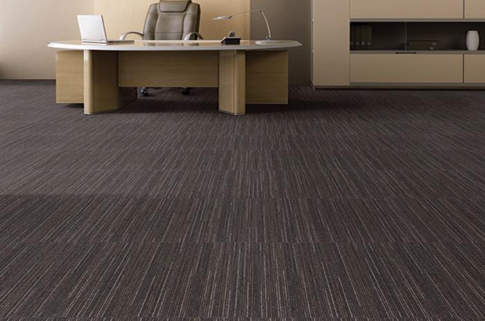 Carpete em Placas Linea - Instalado