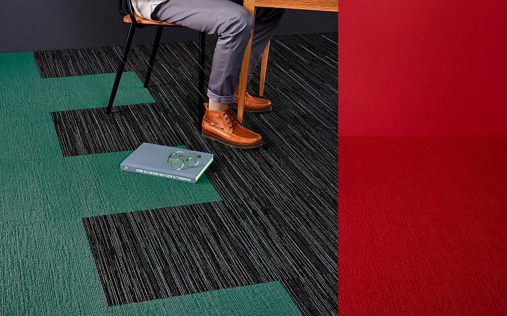 Carpete em Placas Solidus - Instalado
