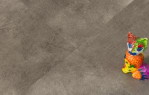 Piso Vinilico em Placa Colado - 3mm